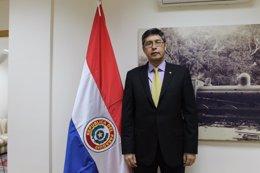Gustavo Gómez Comas, Ministro de la Embajada de Paraguay en España