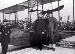 Primer vuelo comercial IATA