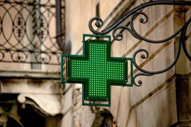 Señal de farmacia