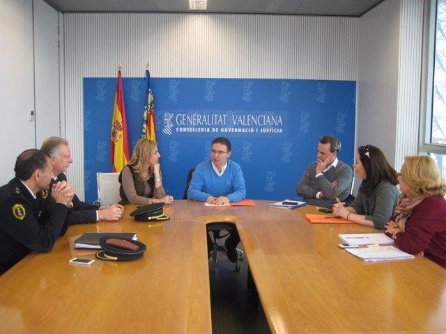 Reunión de Castellano con Móner