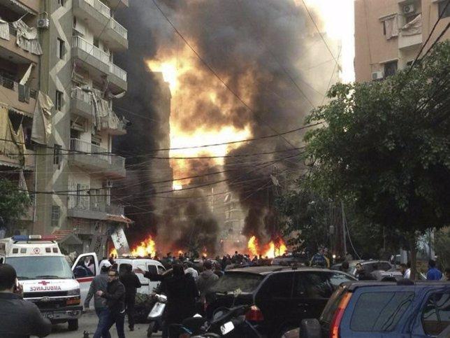 Atentado en Líbano, Beirut