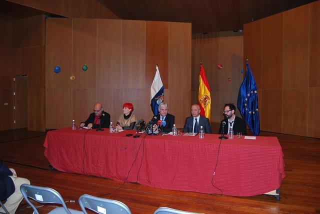 Presentación de 'InterArtes Canarias 2013-2014'
