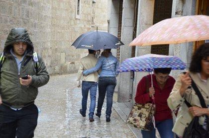 Importantes precipitaciones el martes en Ávila y Salamanca