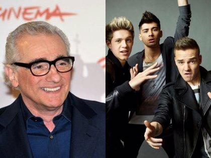 Martin Scorsese quiere colaborar con One Direction