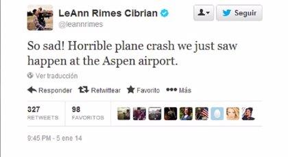 Copiloto de una avioneta muere al aterrizar en el aeropuerto de Aspen