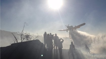 Los incendios forestales afectan ya a más de 16.000 hectáreas en Chile