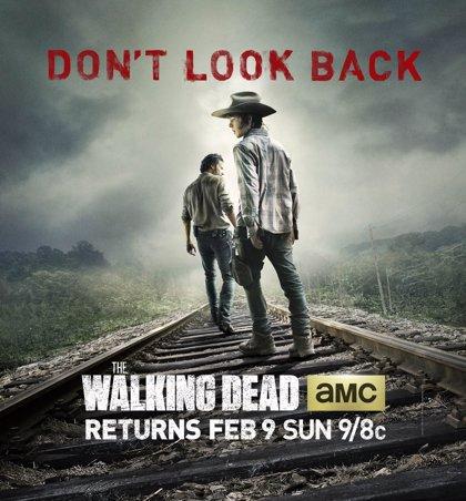 """""""No mires atrás"""", nuevo póster de 'The Walking Dead'"""