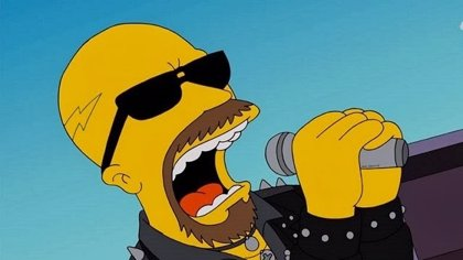 Judas Priest en 'The Simpsons'