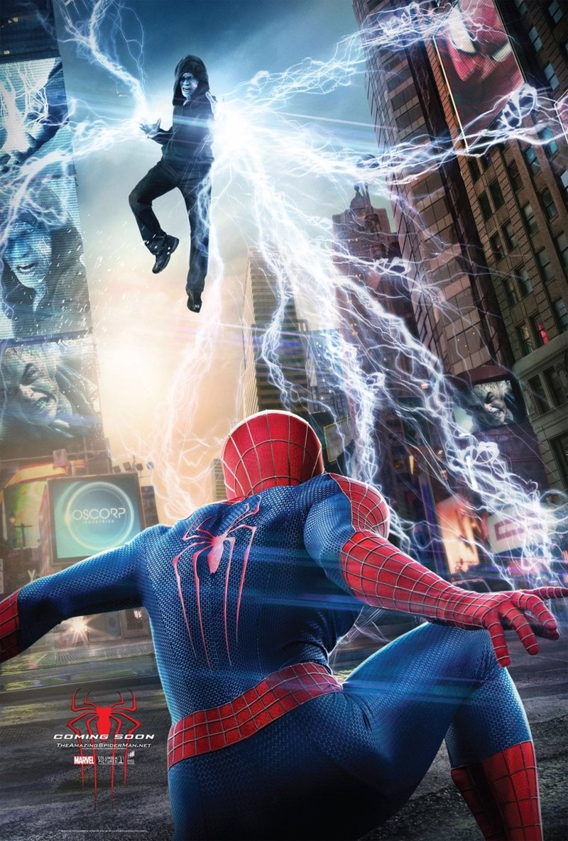 Nuevos y espectaculares carteles de The Amazing Spiderman 2: El poder de Electro