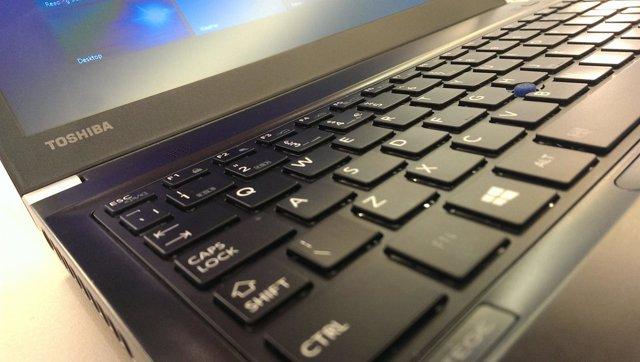 Ordenador portátil de Toshiba
