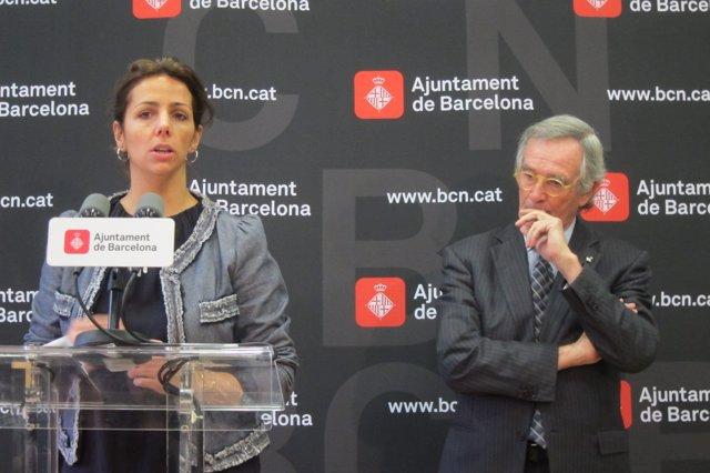 Francina Vila y Xavier Trias