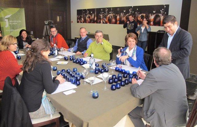 Cata-concurso para elegir a los aceites Jaén Selección 2014