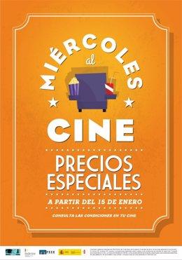 """La industria cinematográfica pone en marcha """"Miércoles al cine"""""""