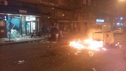 AMPL- 17 detenidos por los disturbios registrados en Burgos tras una manifestación que acabó con descargas policiales