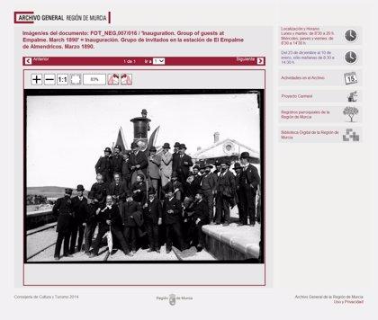 La web del Archivo General recibe más de 108.000 visitas durante su primer año en activo
