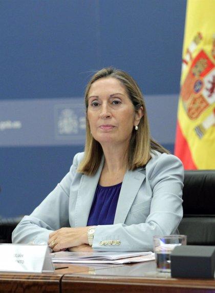 """Ana Pastor insiste en llamar """"al diálogo"""" para lograr el """"fin común"""" de acabar la ampliación del Canal de Panamá"""