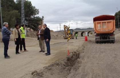 Invierten más de 60.000 euros en mejorar la prevención de avenidas en la Rambla de Vilerda en Puerto Lumbreras