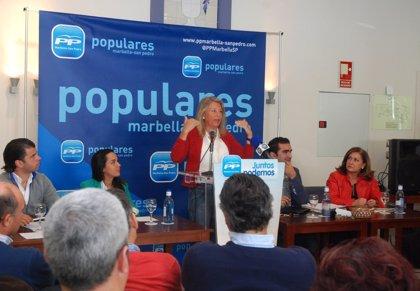 """Muñoz destaca que 2014 será """"el año de la consolidación"""" de Marbella tras la reactivación económica de 2013"""
