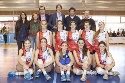 Rafa Pascual, homenajeado por el Club Voleibol Alcobendas y Fundal