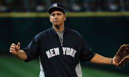 Alex Rodriguez, jugador de los Yankees, béisbol