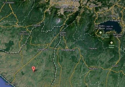 Guatemala.- Un sismo de 5,7 grados se registra en las costas de Retalhuleu