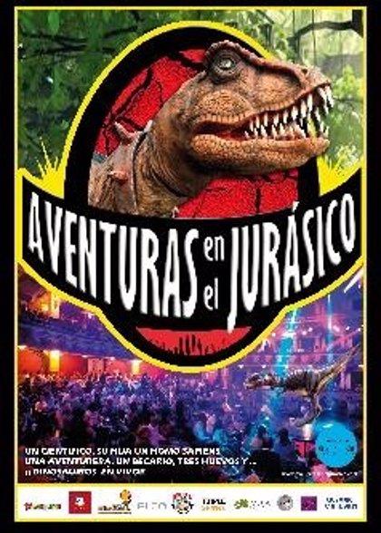 Alberto San Juan y un espectáculo de dinosaurios, en Cáceres