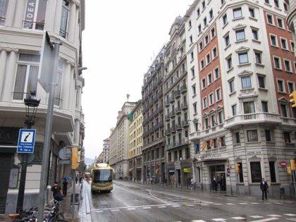 El tráfico de la Via Laietana se restringe por obras durante una semana