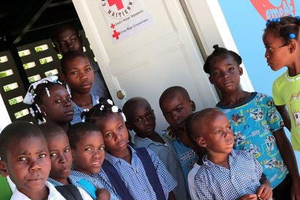 14 cooperantes de Navarra participaron en el operativo de Haiti