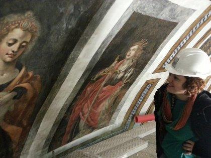 Unas 350 personas visitan las obras de restauración de la iglesia del Santo Cristo de la Salud