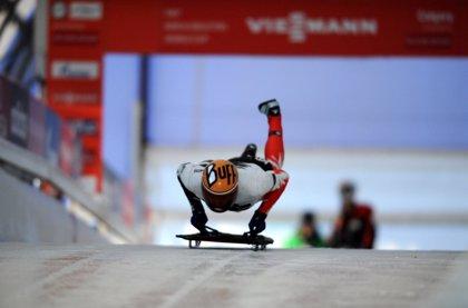Ander Mirambell acaricia la clasificación olímpica en Saint Moritz