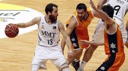 Real Madrid Baloncesto Fuenlabrada ACB Sergio Rodríguez