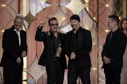 U2 gana el Globo de Oro a Mejor Canción Original