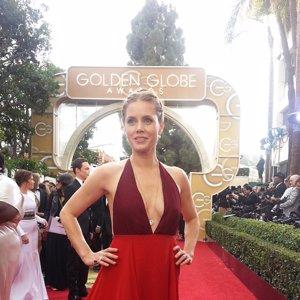Amy Admas #GoldenGlobes