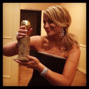 Amy Poehler #GoldenGlobes