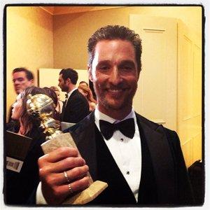 Matthew McConaughey #GoldenGlobes