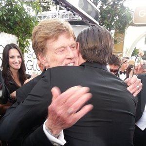 Robert Redford y Leonardo Di Caprio #GoldenGlobes