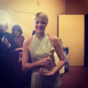 Robin Wright #GoldenGlobes