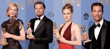 Blanchett, DiCaprio, Adams y McConaughey, vencedores