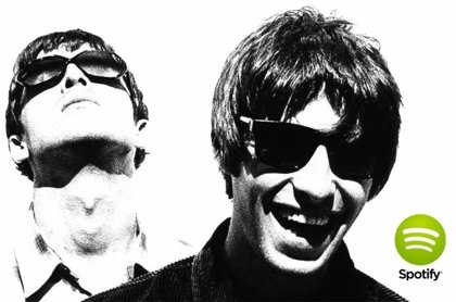 Oasis desembarca en Spotify