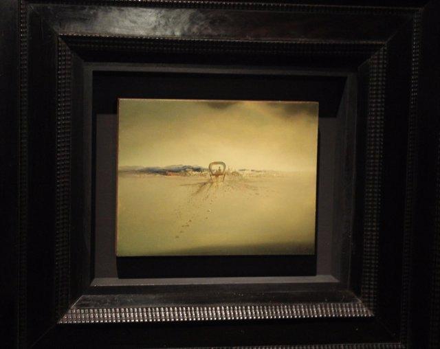 El cuadro 'Carretó fantasma', de Salvador Dalí