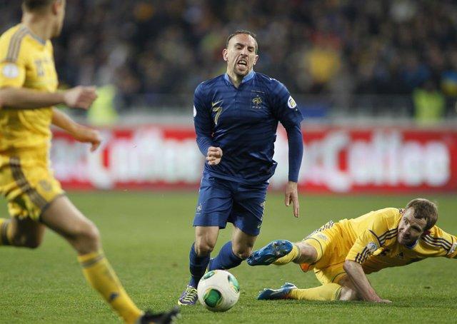 """Ribéry: """"Es un honor ser finalista con estos grandes jugadores"""""""