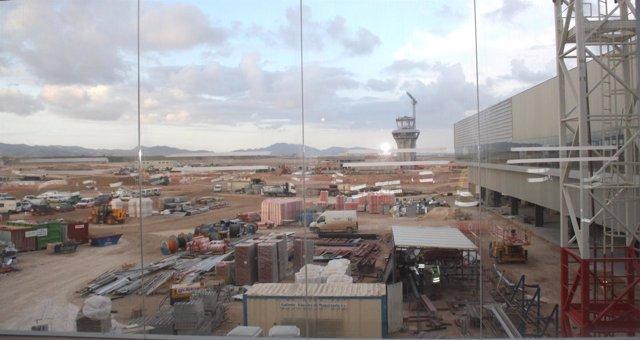 El aeropuerto de Corvera en una foto de archivo