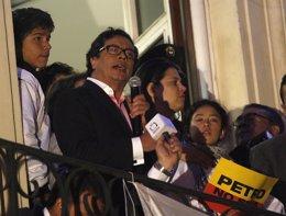 El ex alcalde de Bogotá Gustavo Petro