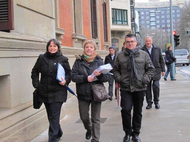 Representantes municipales registran una iniciativa legislativa sobre salud.