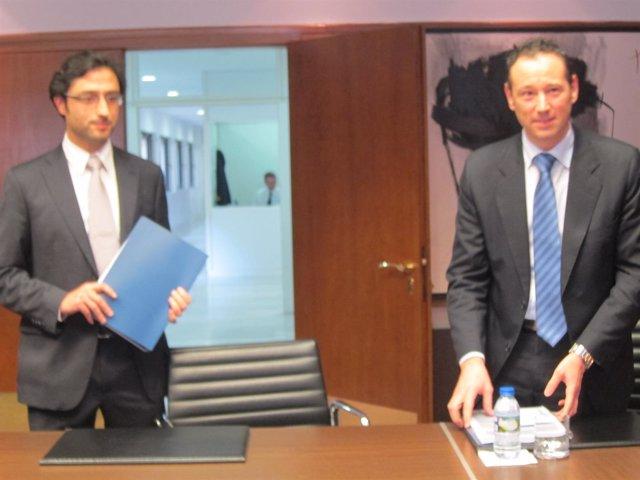 Alejandro Cabaleiro y Guillermo Martínez.