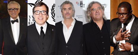 Alfonso Cuarón, Martin Scorsese, Steve Mcqueen, David O. Russell Y Greengrass