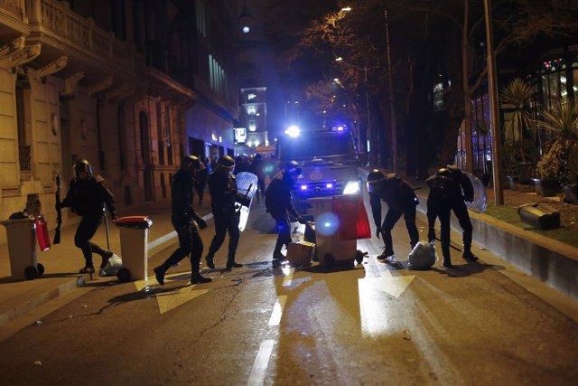 Manifestación en Madrid en apoyo a Gamonal
