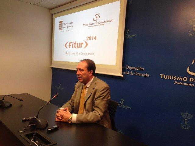 Francisco Tarifa en rueda de prensa