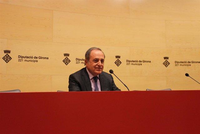 Joan Giraut, presidente de la Diputación de Girona