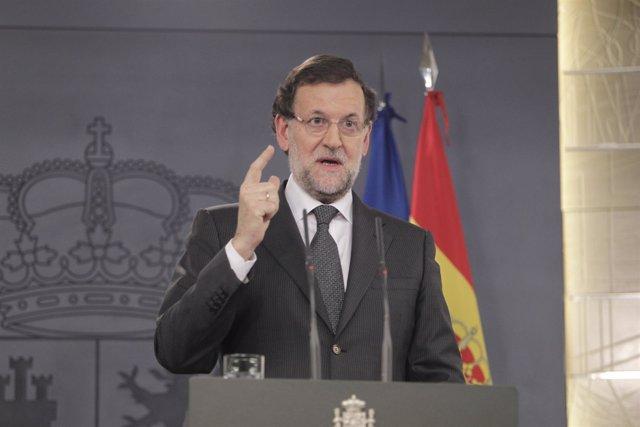 Mariano Rajoy, Presidente del Gobierno,